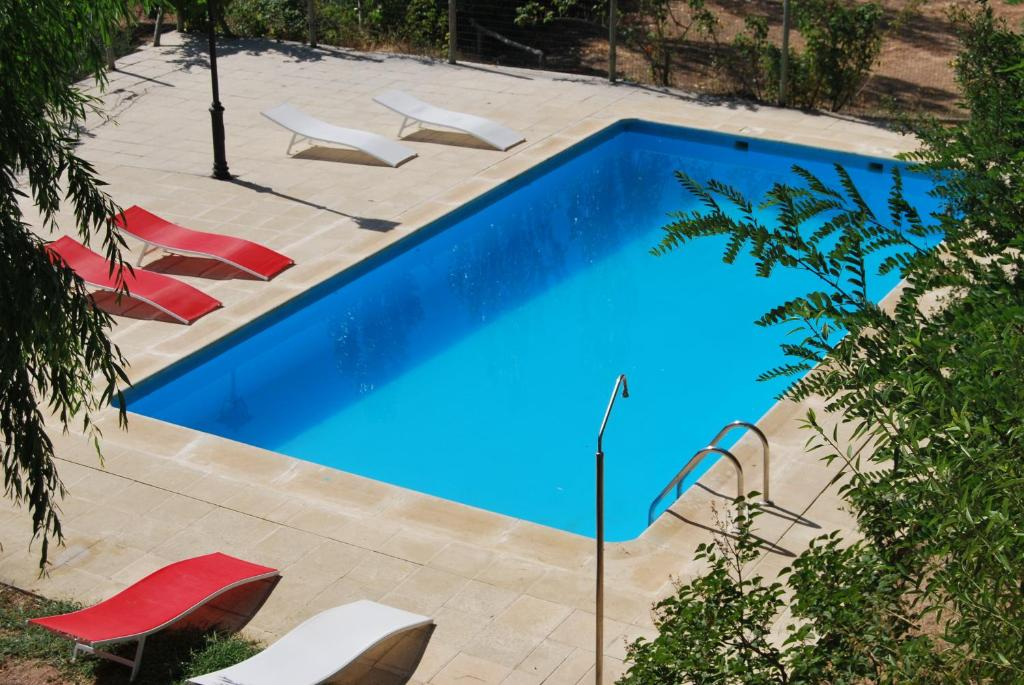 A view of the pool at Cortijo la Besana or nearby