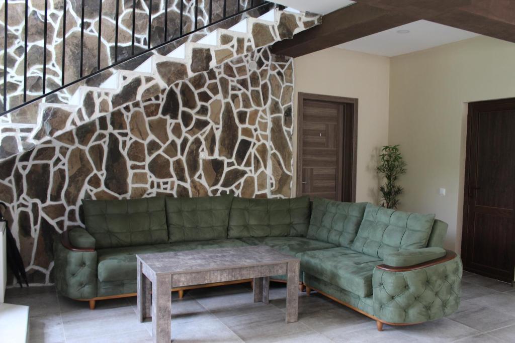 A seating area at Nikala's house