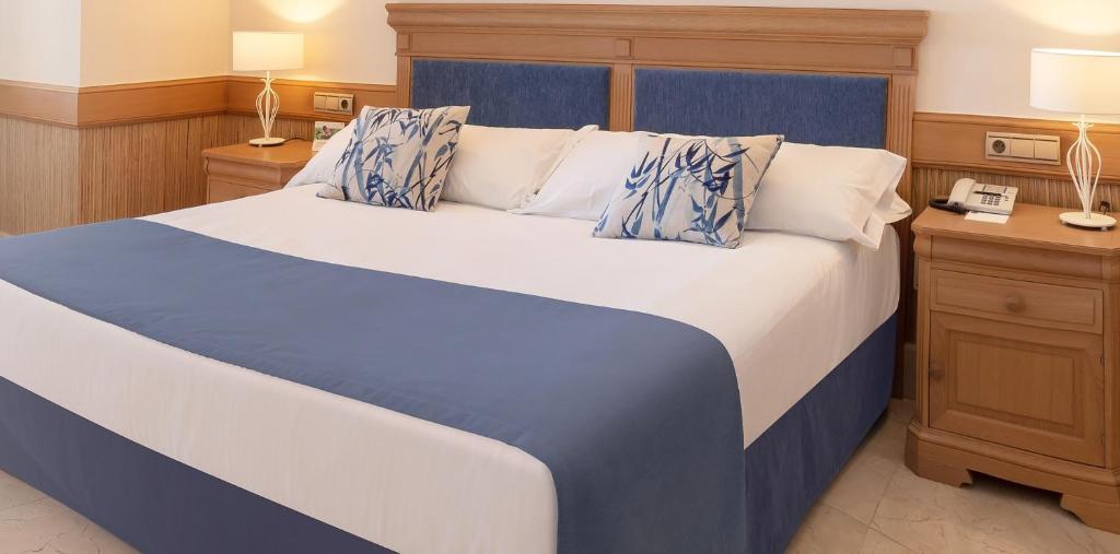 Cama o camas de una habitación en SH Villa Gadea