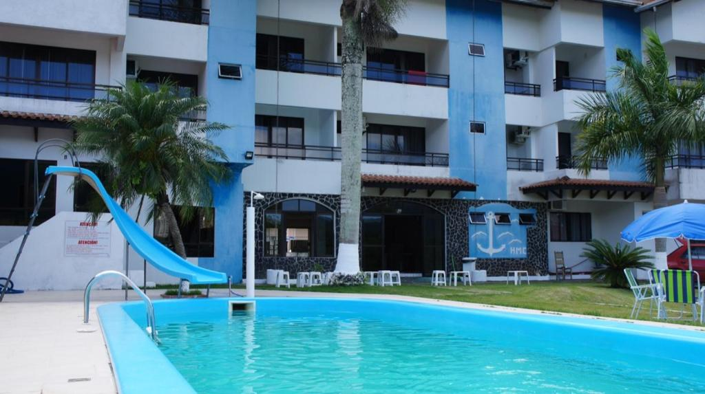 The swimming pool at or close to Golden Marina Hotel