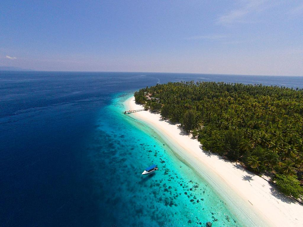 Vista aerea di Agusta Eco Resort