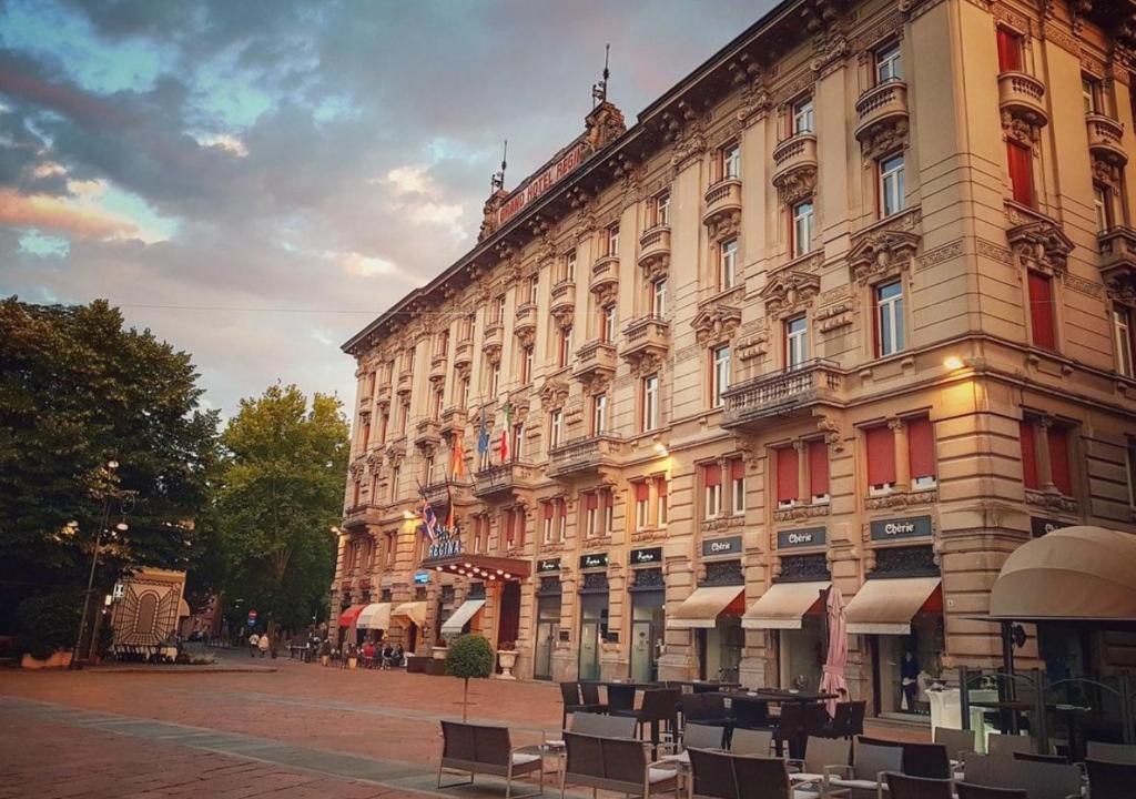 Grand Hotel Regina Salsomaggiore Terme, Italy