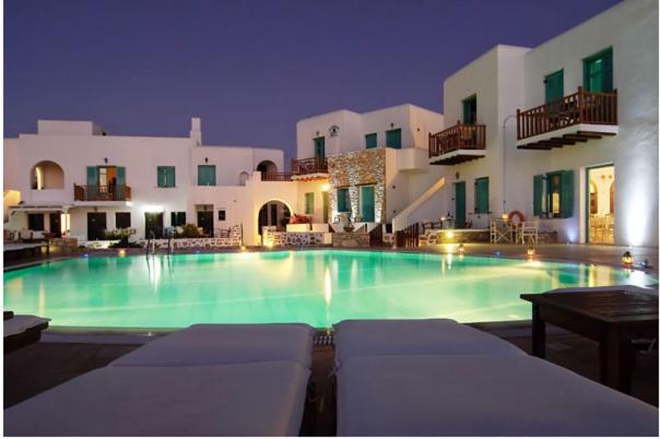 Hotel Odysseus Chora Folegandros, Greece