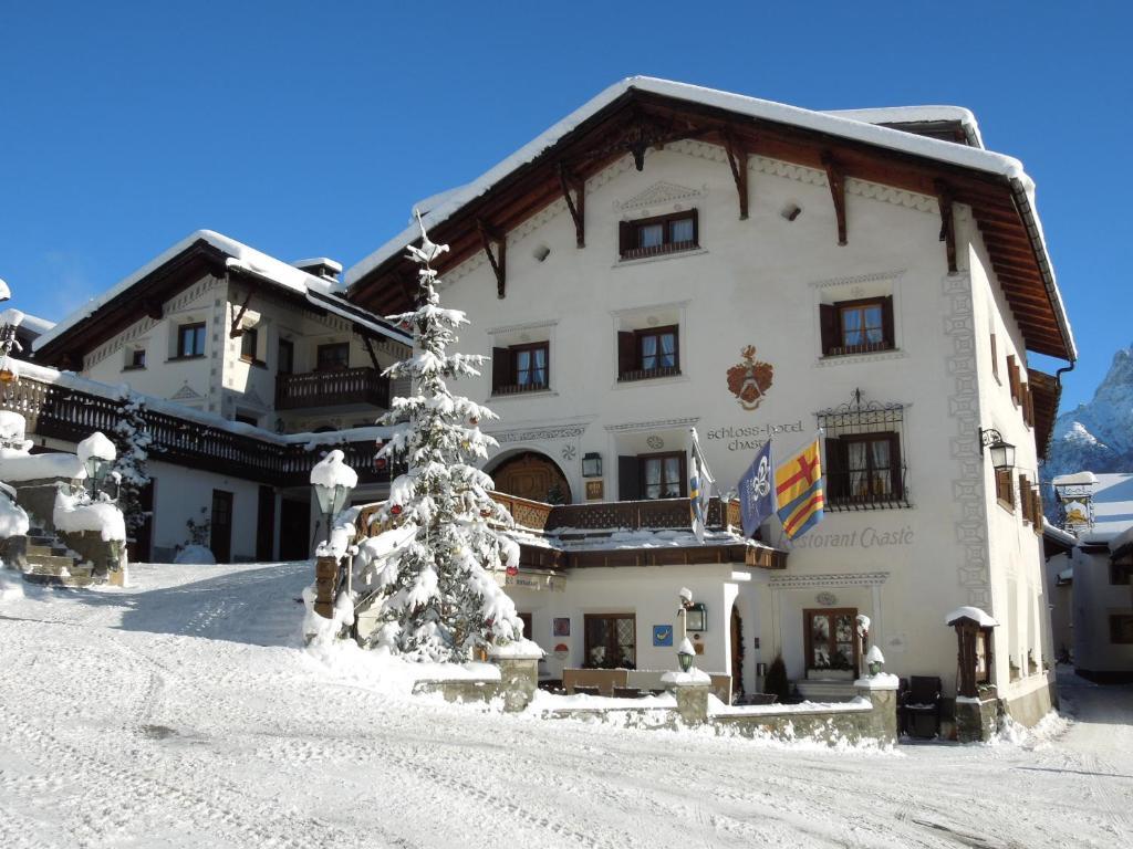 Schlosshotel Chaste Tarasp, Switzerland