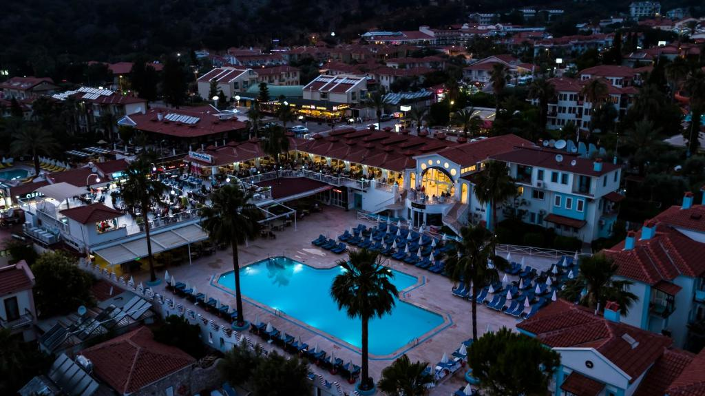 A bird's-eye view of Karbel Hotel