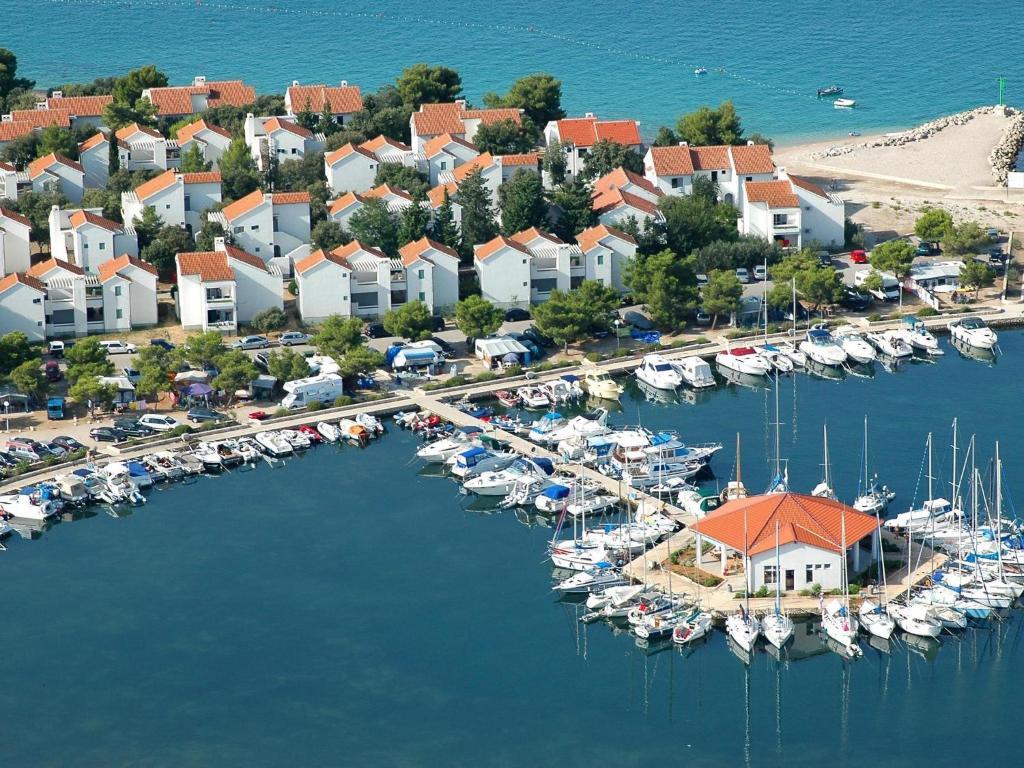 A bird's-eye view of Villas Kornati