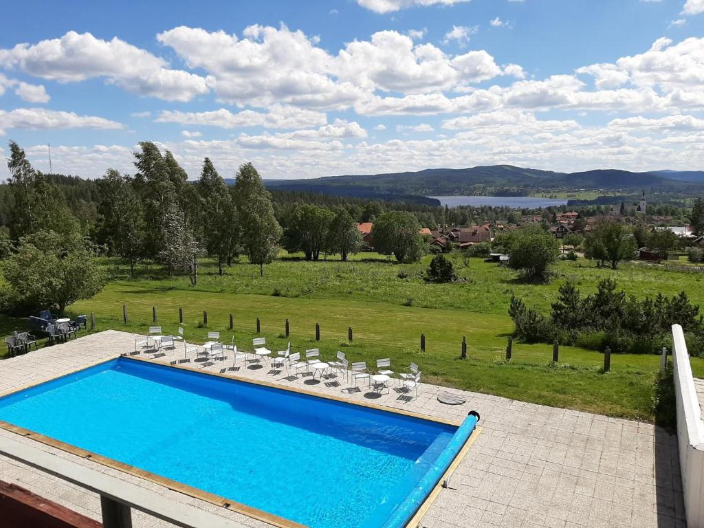 A view of the pool at Siljansnäs Hotell or nearby
