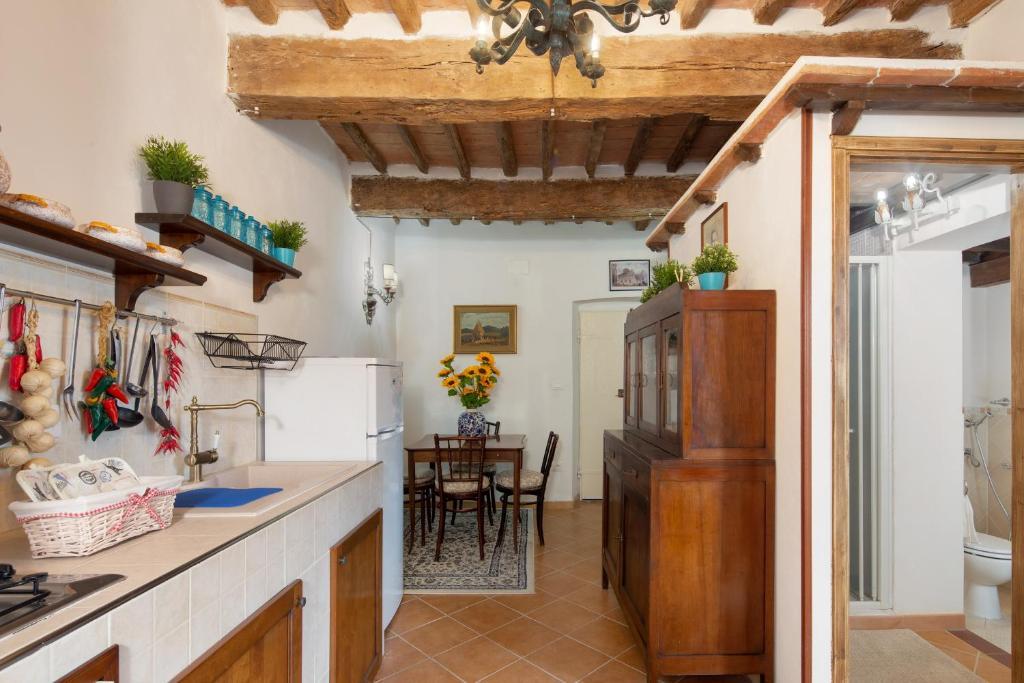 Appartamento stile toscano in Fauglia