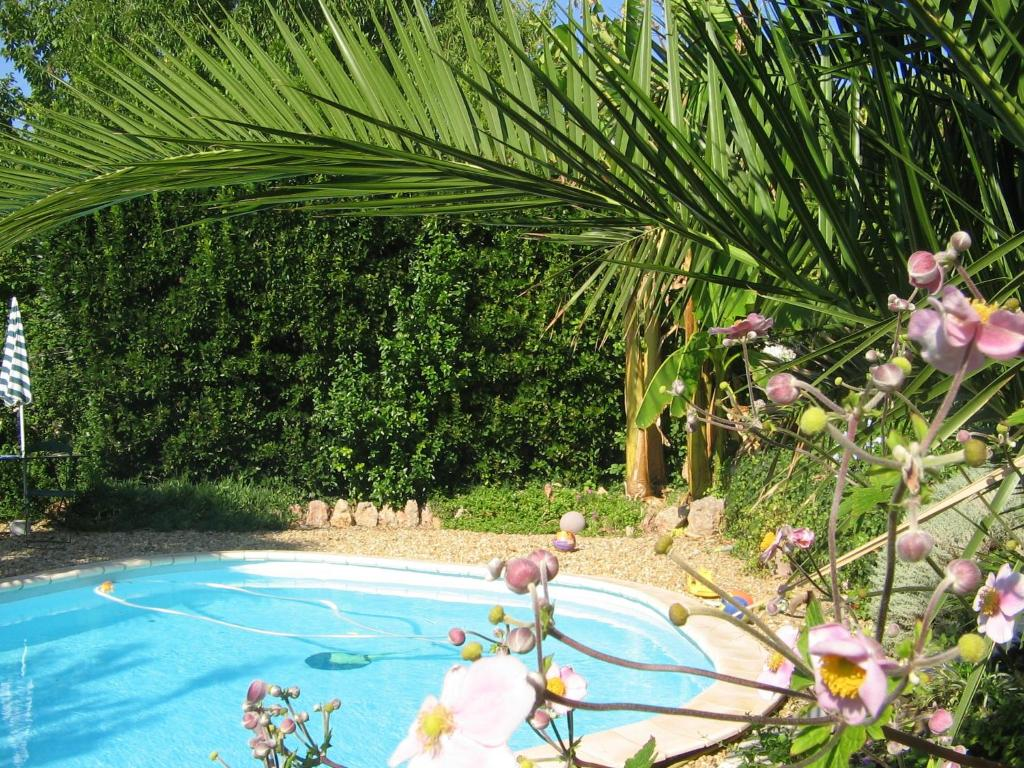 The swimming pool at or near Chambres d'Hôtes Béziers