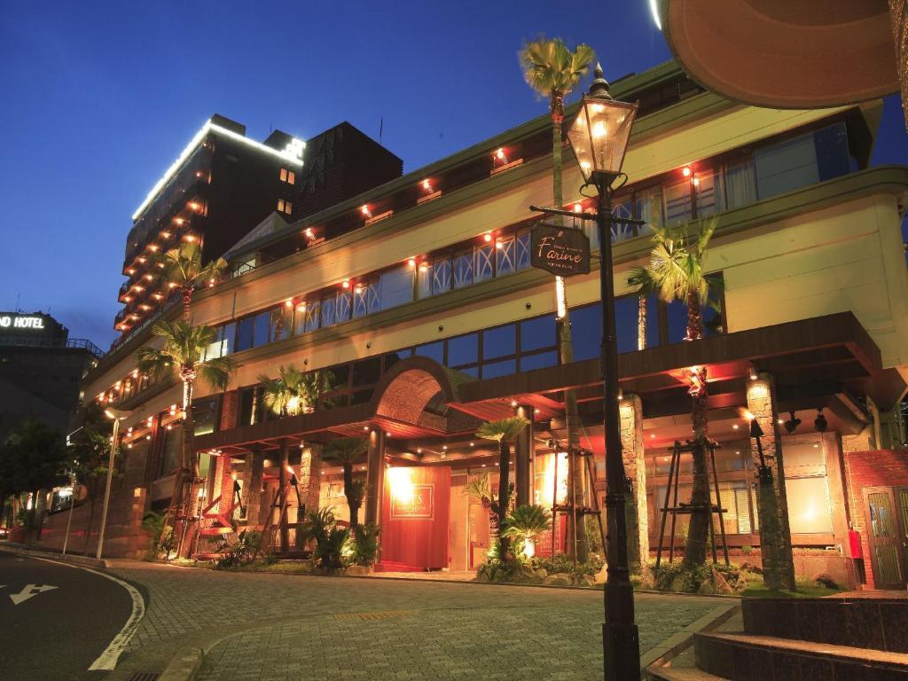 ホテルが所在する建物