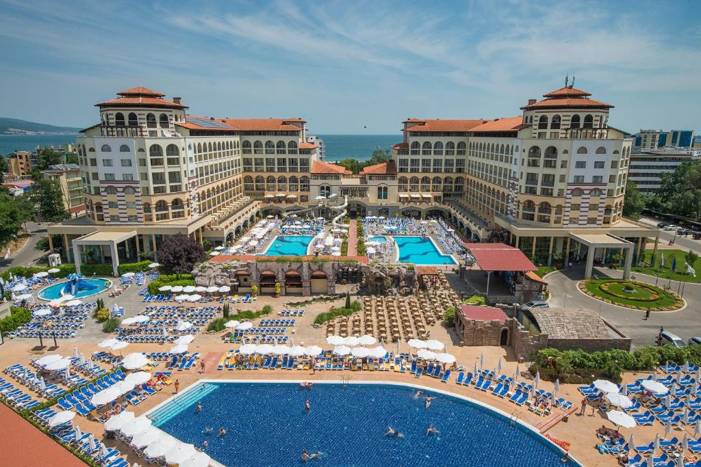 A view of the pool at Melia Sunny Beach - All Inclusive or nearby