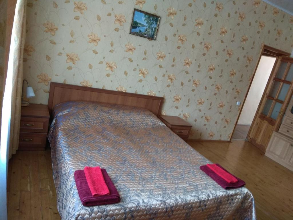 A bed or beds in a room at Apartment in the Center on Mira