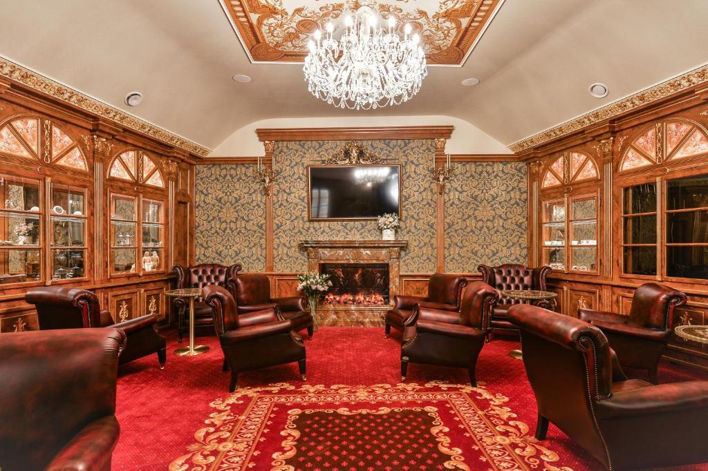 호텔 하스탈 프라하 올드 타운  휴식 공간