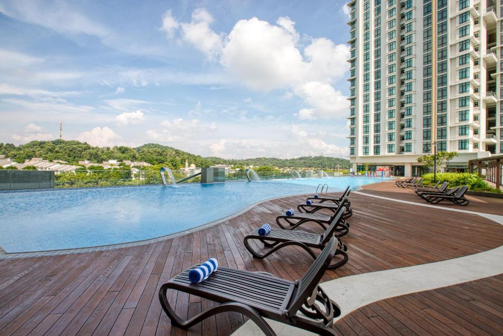 The swimming pool at or near Stellar Putrajaya Hotel ( Official Page )