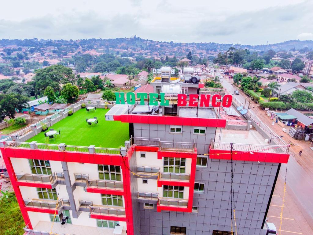 A bird's-eye view of Hotel Benco