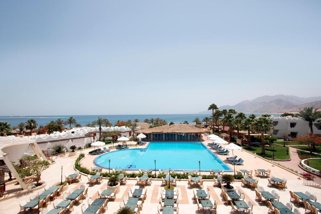 A view of the pool at Swiss Inn Resort Dahab or nearby