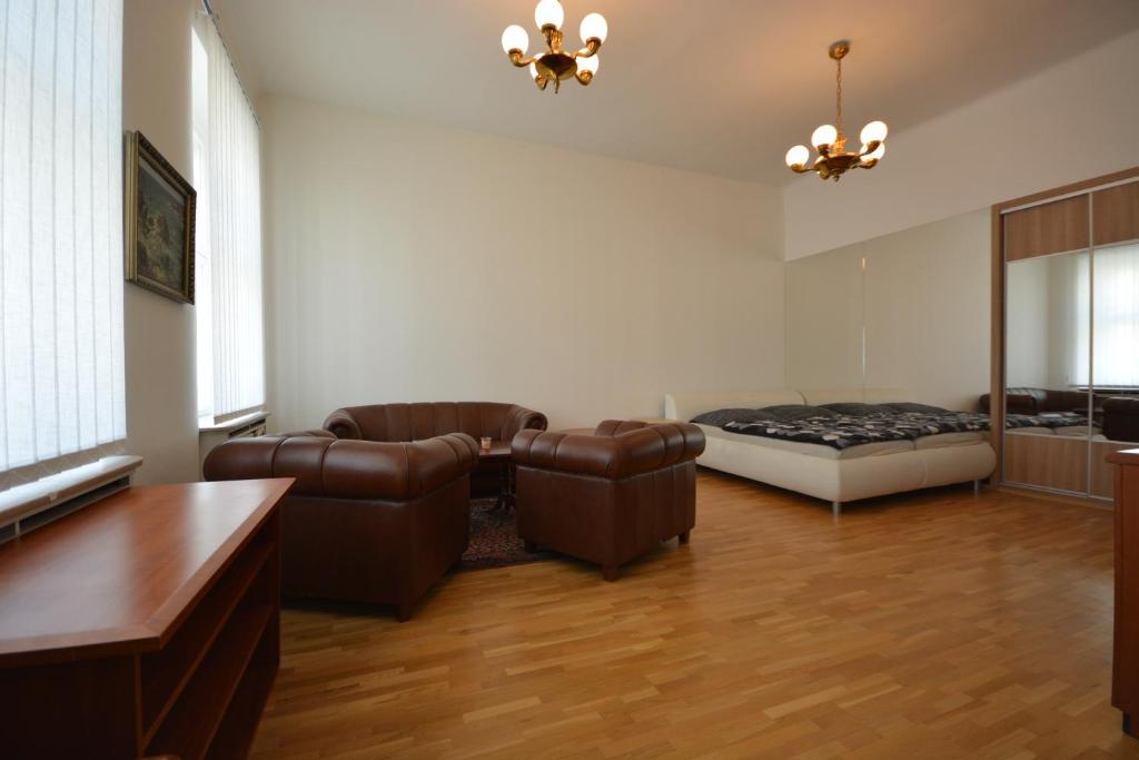 Luxury apartment near the Main station 휴식 공간