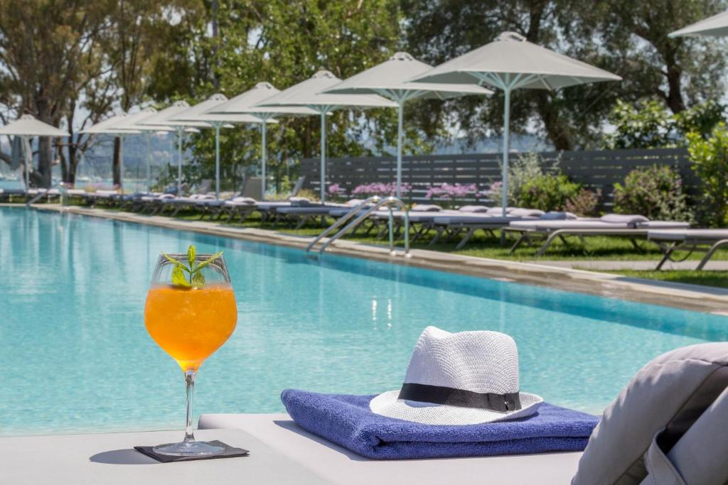 The swimming pool at or near Rodostamo Hotel & Spa- Adults Friendly