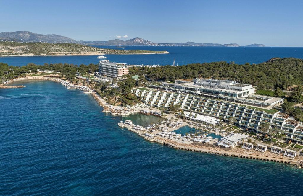 A bird's-eye view of Four Seasons Astir Palace Hotel Athens