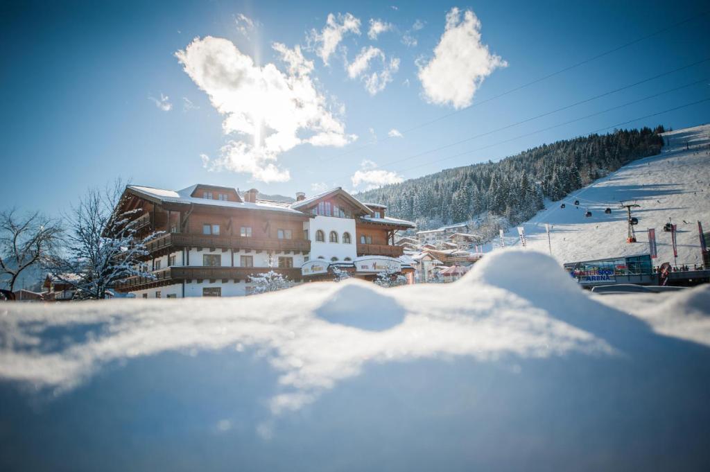 Alpines Gourmet Hotel Montanara im Winter