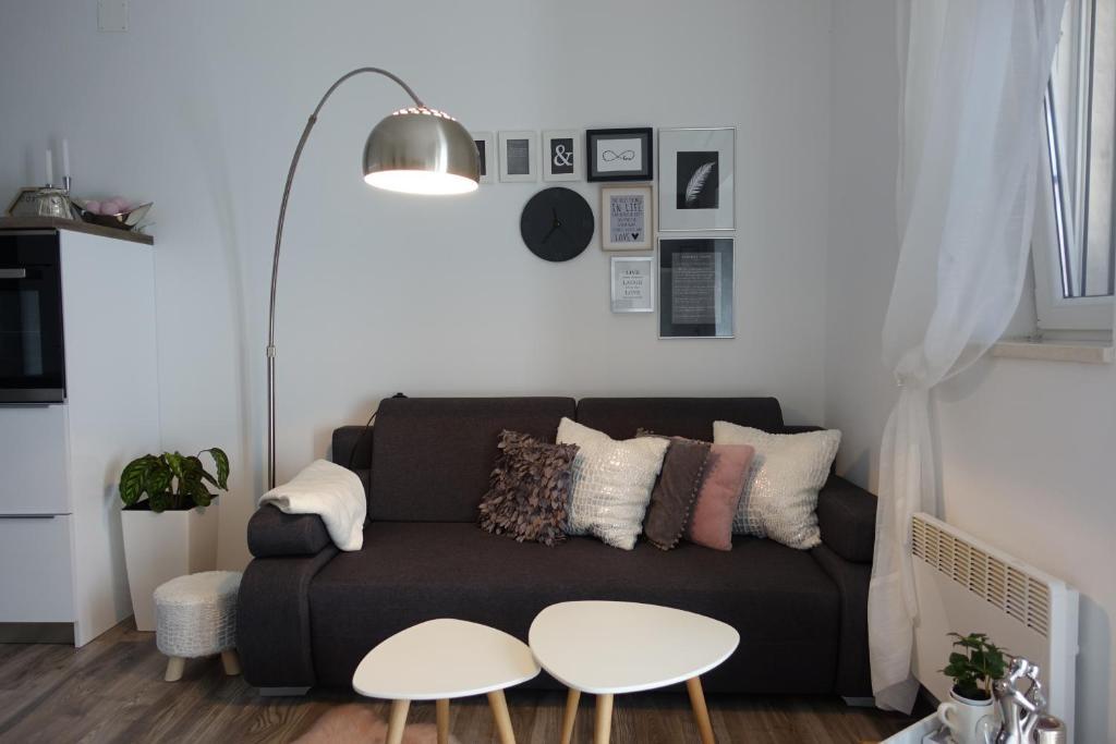 Posezení v ubytování Apartman Maja
