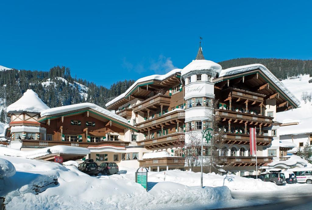 Hotel-Appartement Ferienhof during the winter