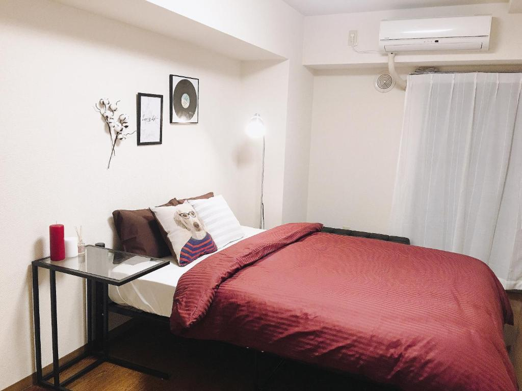 A bed or beds in a room at [Maylif] Near MINATO MIRAI -YOKOHAMA 8m - Max.7ppl