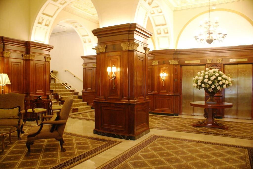 The lobby or reception area at The Hay - Adams