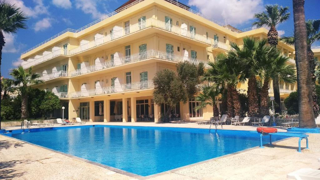 The swimming pool at or near Nireus Hotel