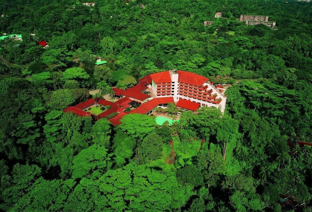 A bird's-eye view of Sabah Hotel