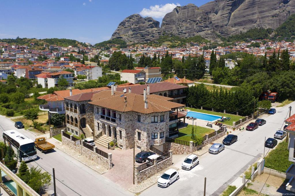 A bird's-eye view of Monastiri Guesthouse