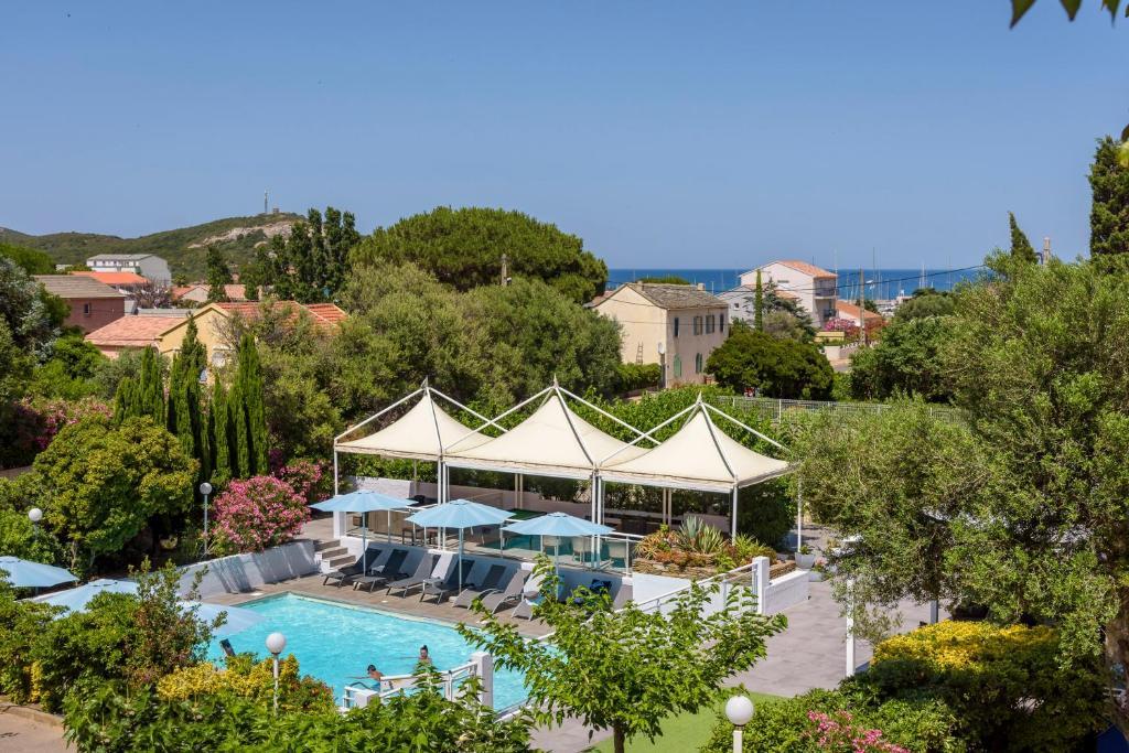 A bird's-eye view of Hotel U Ricordu & Spa