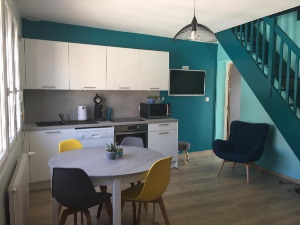 Maison avec 2 appartements proche plage