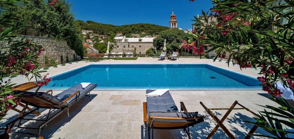 The swimming pool at or near Puteus Palace Heritage Hotel
