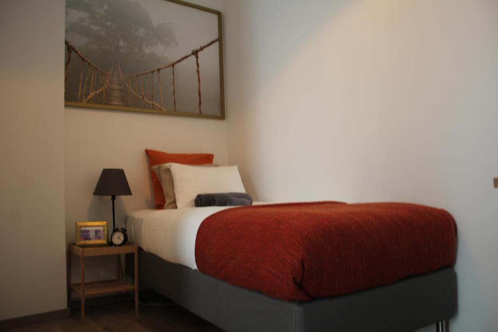 Cama o camas de una habitación en Studio EU