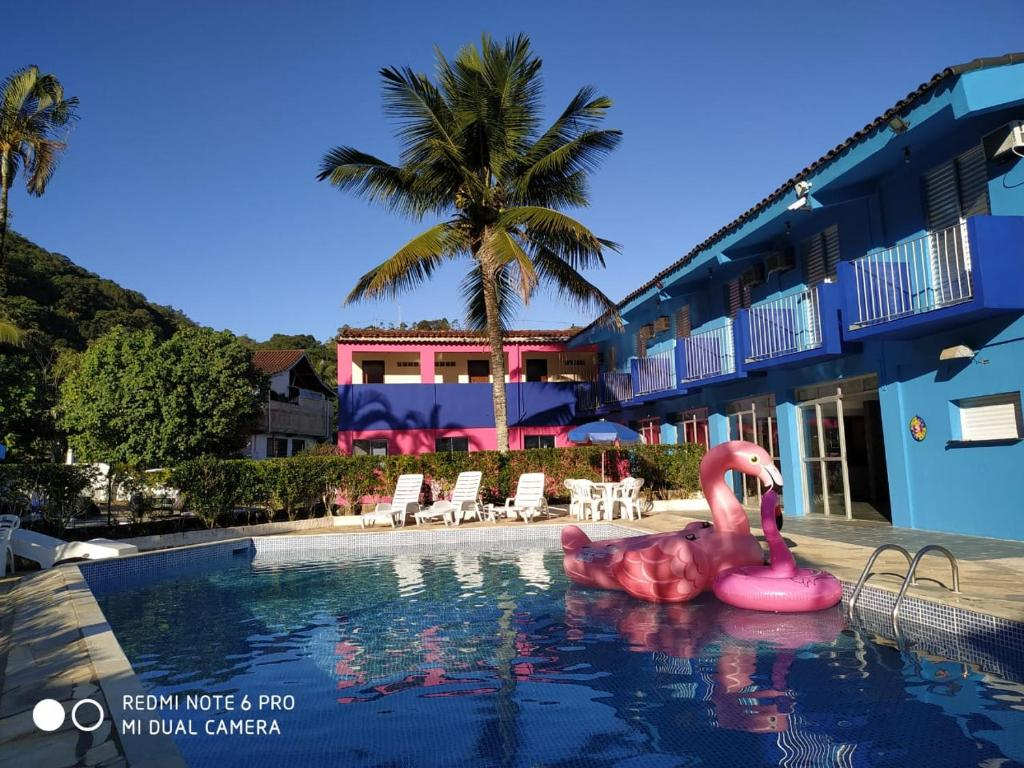 The swimming pool at or near Hotel Costa Azul