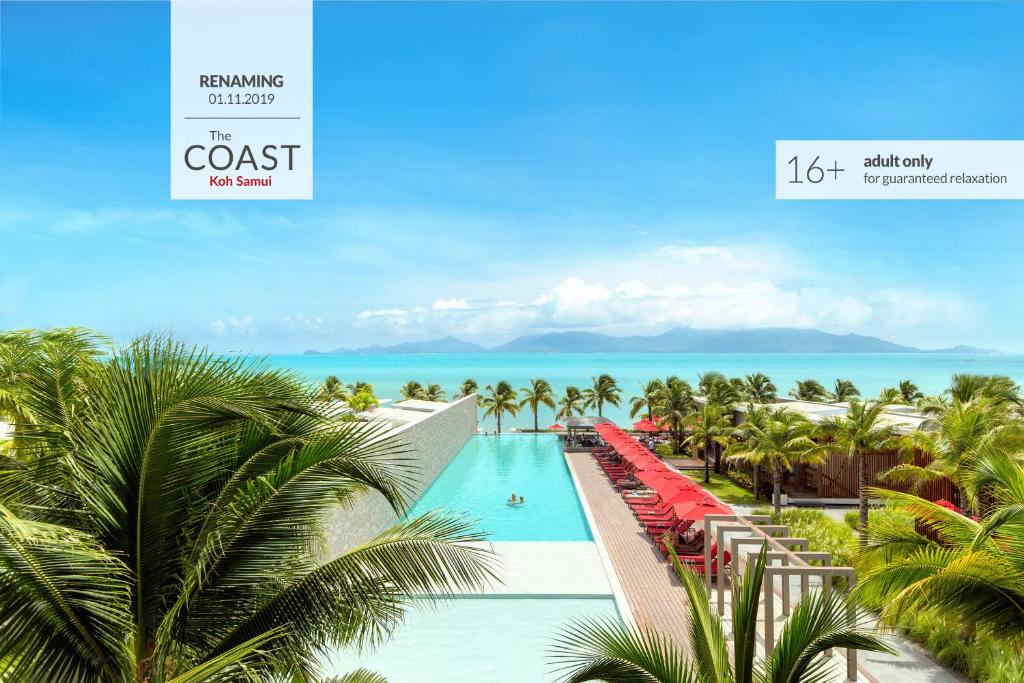 A view of the pool at The COAST Adults Only Resort and Spa - Koh Samui formerly Sensimar or nearby