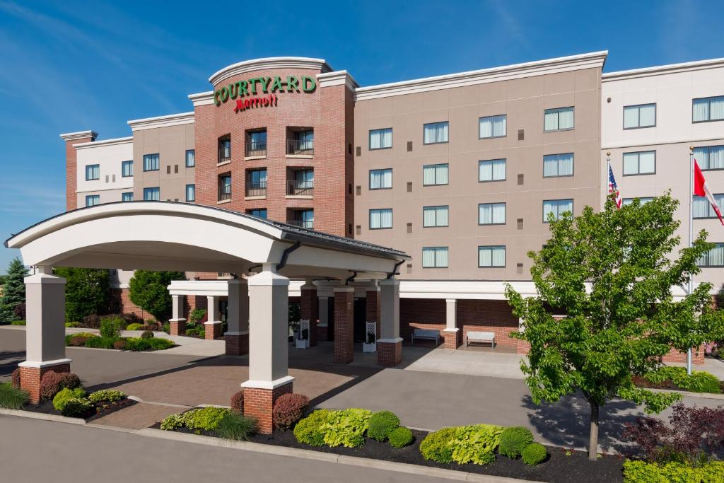 The Courtyard by Marriott Buffalo Airport.