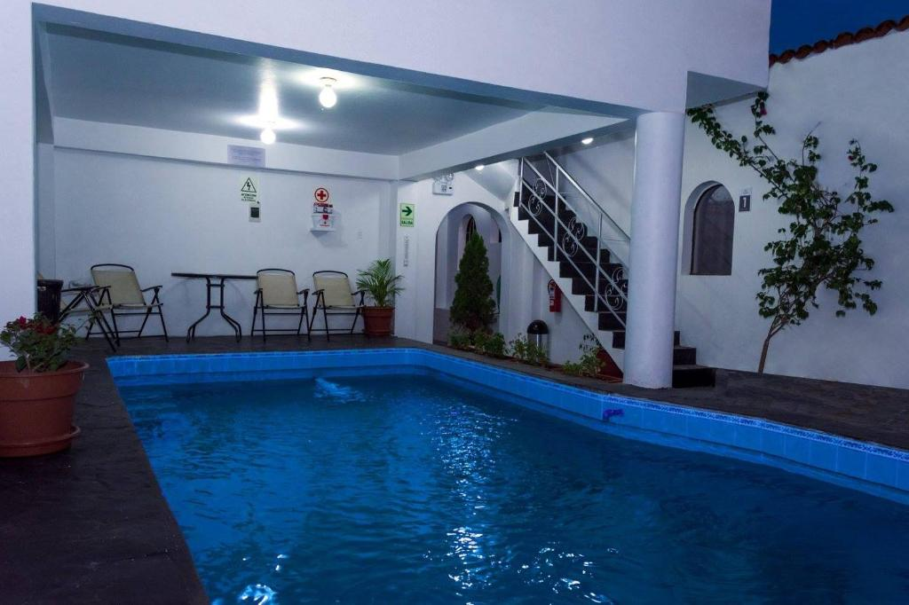 The swimming pool at or close to Hotel Via Morburg