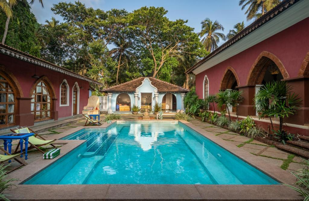 The swimming pool at or close to Amrapali-House of Grace