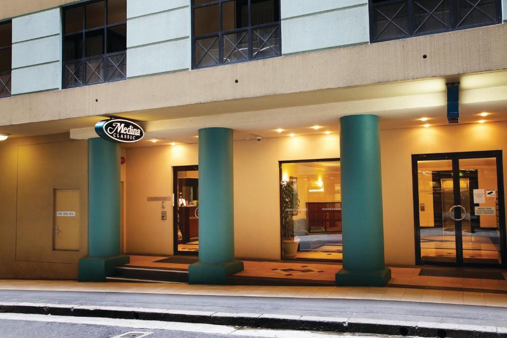 The facade or entrance of Adina Serviced Apartments Sydney Martin Place