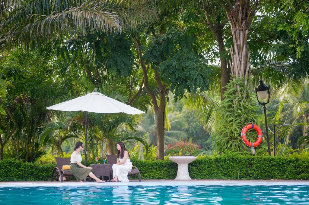 The swimming pool at or near FLC Luxury Resort Vinh Phuc