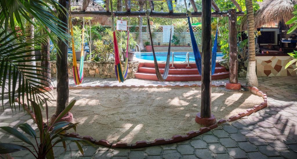 Piscina en o cerca de Cocos Cabanas