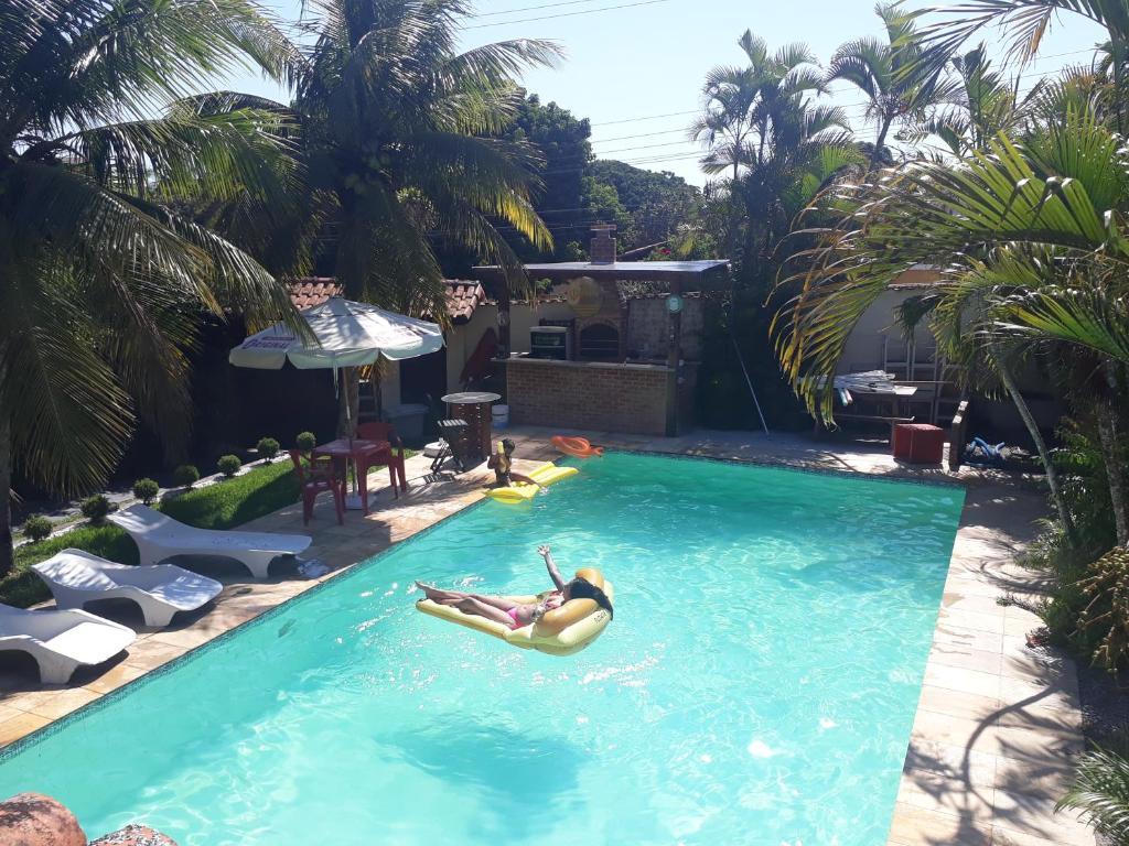 Uma vista da piscina em Saquarema Itauna Beach ou nos arredores