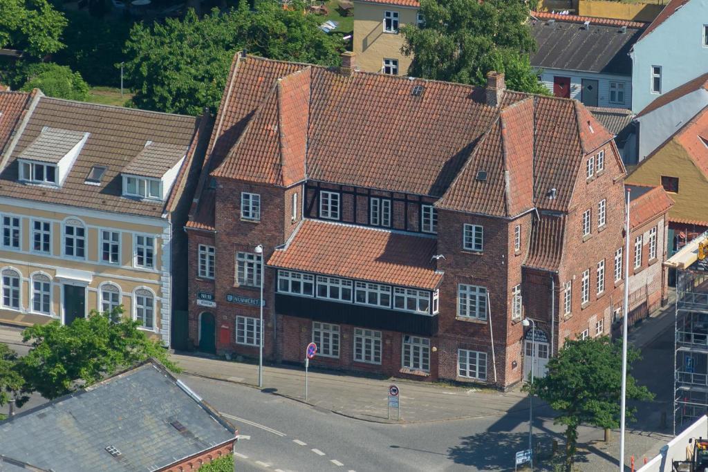 A bird's-eye view of Guesthouse Rudkøbing