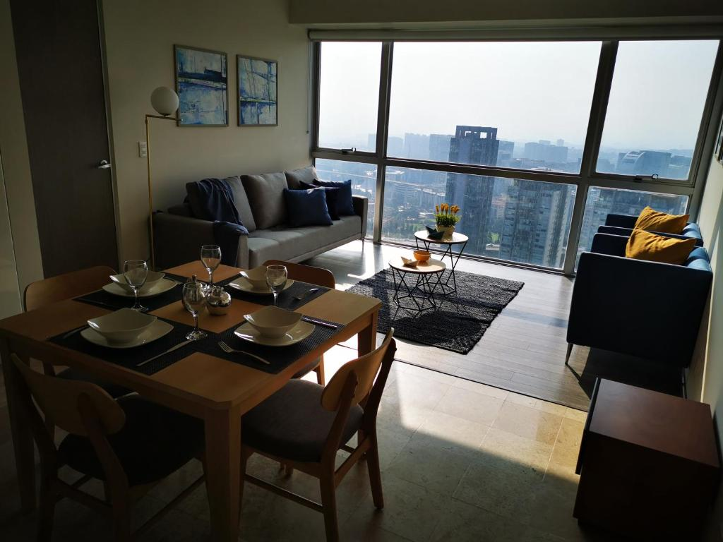 Apartment Exclusivo Departamento En Santa Fe Con Vista Panoramica Mexico City Mexico Booking Com