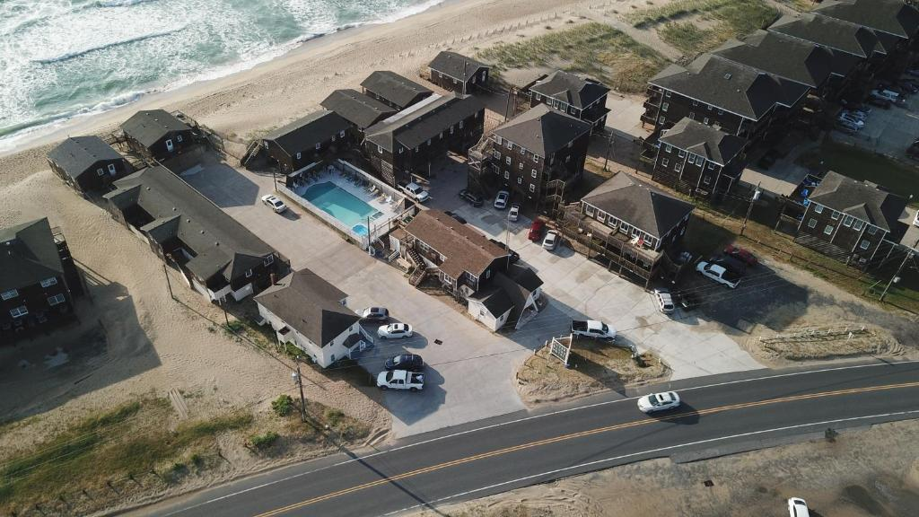 A bird's-eye view of Outer Banks Motel