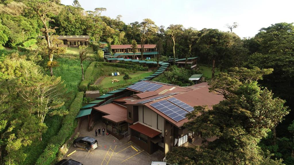 A bird's-eye view of Trapp Family Lodge Monteverde