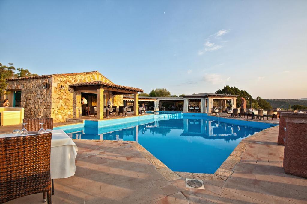 The swimming pool at or near Residence Stella Di Gallura