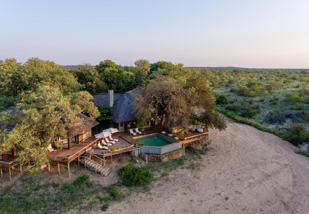 A bird's-eye view of Klaserie Sands River Camp